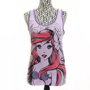 Disney Princess Ariel The Little Mermaid tank top